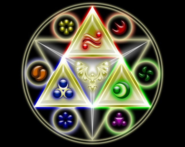 triforce star of david